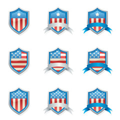 Patriotic Shields