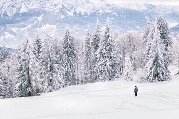 Wintersport am Gaisberg