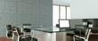 Leinwanddruck Bild - modernes Büro Interieur Design