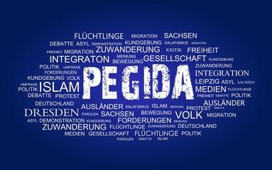 Pegida Begriffe