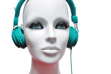 mannequin headphones