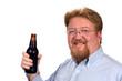 Man Holding Bottled Beer