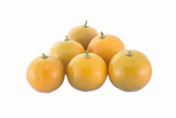 6 mandarin oranges