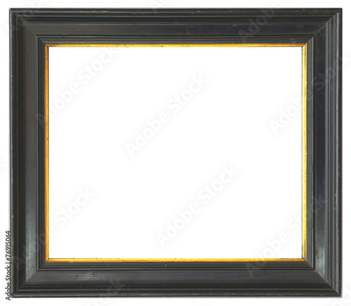 canvas print picture schwarzer Profilrahmen