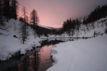 Alpe Devero, primi bagliori di luce