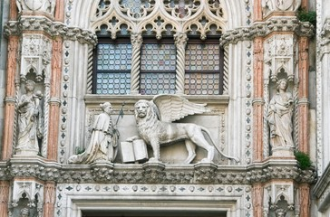 Statues of the Cathedral of San Marco