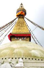 Top of the Swayambhunath stupa