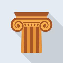 Antique column icon