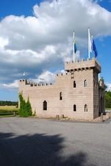 kleine Burg in Schweden
