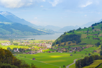 Giswil und Sarnersee