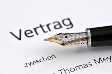 Vertrag, Unterschrift, Signatur, Vertragsrecht, Gültigkeit