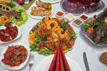 traditional festive food