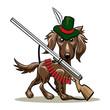 Hunting dog - 76922666