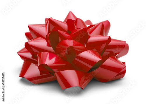 Leinwandbild Motiv Red Present Bow