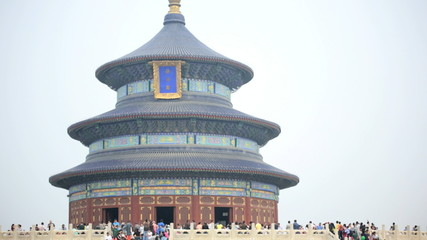 Temple of Heaven Imperial Sacrificial Alter Pagoda Beijing China