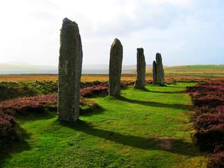Stone circle in Scotland