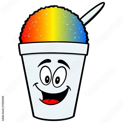 Shaved Ice Mascot - 76926448