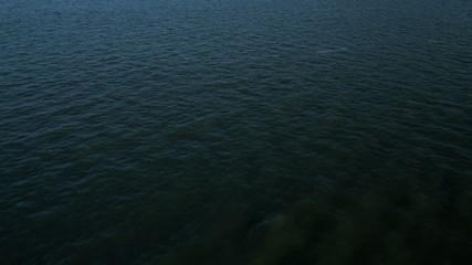 Aerial Ocean view sea level