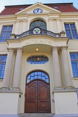 Teterow: Neubarockes Rathaus (1910, Mecklenburg-Vorpommern)