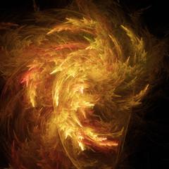Surreales Feuer Design