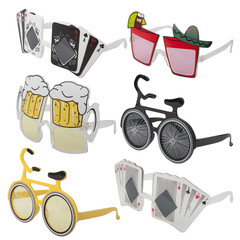 Carnival glasses set