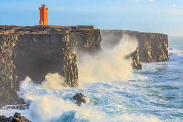 Lighthouse in West Iceland