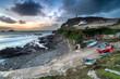 Dusk over Cape Cornwall