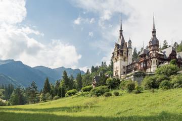 Palace. Peles. Romania.