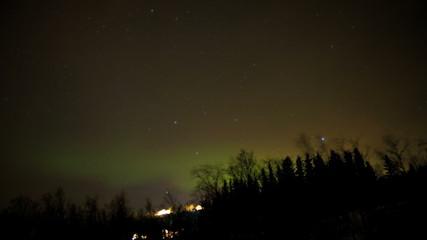Aurora Borealis  natural solar light display Northern Lights Norway Scandinavia