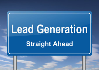 lead generation sign