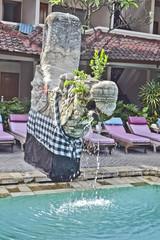 fontana in piscina
