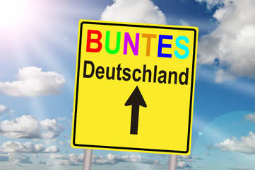 buntes Deutschland