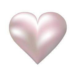 pearl shaped heart