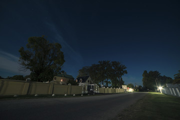 Storms River village at night. Eastern Cape. South Africa.