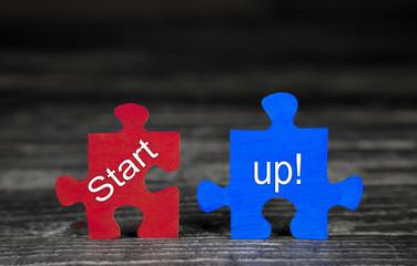 Startup Text Worte für Unternehmensgründung und Existenzgründer