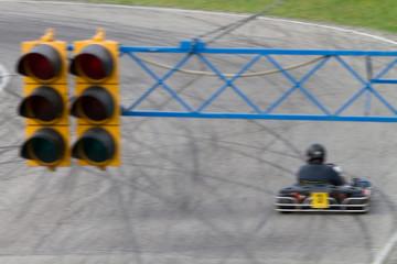 traffic lights go-kart