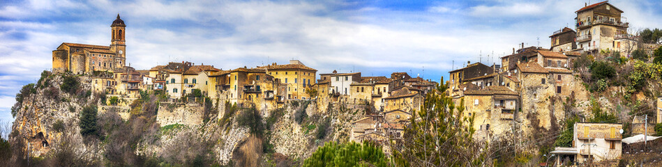 Toffia -hill top village ( beautiful villages of Italy series)