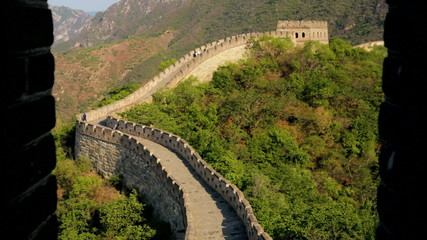 The Great Wall of China Watchtower fortification Beijing