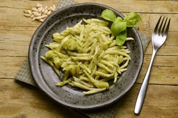 Trofie Trofiette 이탈리아 요리 ಇಟ್ಯಾಲಿಯನ್ ಪಾಕಪದ್ಧತಿ Cucina italiana