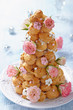Croquembouche with Roses