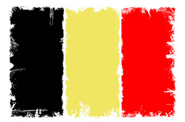 Dirty flag of Belgium