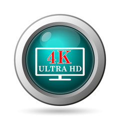 4K ultra HD icon