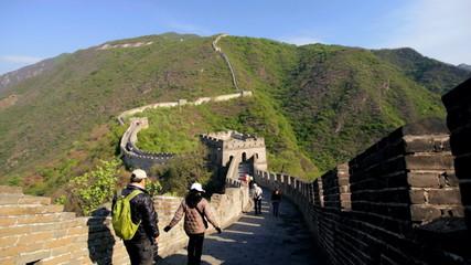 Landscape Great Wall of China arch Watchtower Mutianyu