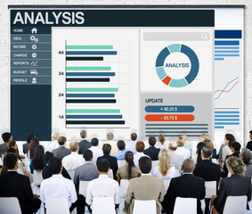 Analysis Diversity Ethnicity Discussion Business Concept