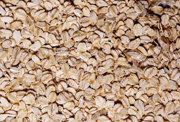 Heap of oats