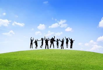 Business Collaboration Colleague Partnership Teamwork Concept