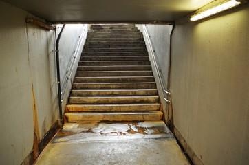 地下の階段