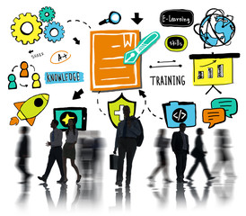 Business People Training Communication Corporate Working Concept