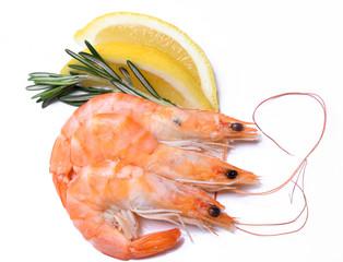 Delicious shrimps