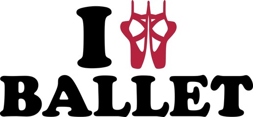 I love Ballet Shoes